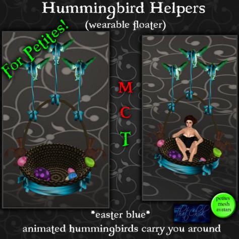 PetitesHummingbird Helpers EB AD 512 (T)